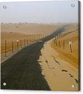 Dune Road Acrylic Print