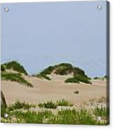 Dunes And Grasses 7 Acrylic Print