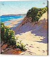 Dunes Central Coast Acrylic Print
