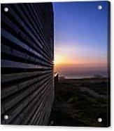 Dunes Sunset Acrylic Print