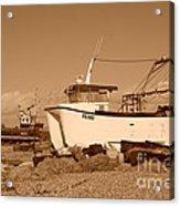 Dungeness Fishing Boats Acrylic Print
