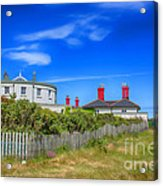 Dungeness Lighthouse Quarters Acrylic Print