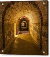 Dungeon At Castillo San Cristobal In Old San Juan Puerto Rico Acrylic Print
