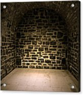 Dungeon Acrylic Print by Edward Fielding