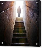 Dungeon Exit Acrylic Print
