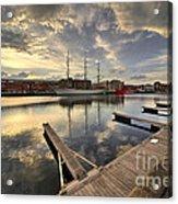 Dunkirk Quay  Acrylic Print
