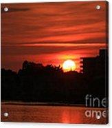 Dunlawton Sunrise Acrylic Print