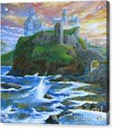 Dunscaith Castle - Shadows Of The Past Acrylic Print