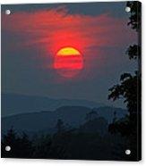 Dunvegan Sunset Acrylic Print