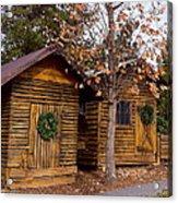 Dunwoody Farmhouse Cabins Acrylic Print