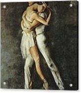 Duo Dance Acrylic Print by Podi Lawrence