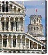 Duomo And Campanile Acrylic Print