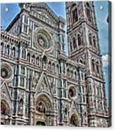 Duomo Di Firenze Acrylic Print