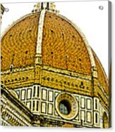 Duomo Florence Italy Acrylic Print