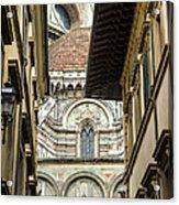 Duomo In Firenze Acrylic Print