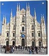 Duomo In Milano. Italy Acrylic Print