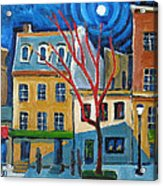 Dupont Circle Connecticut Avenue Acrylic Print