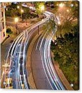 Dupont Circle Traffic I Acrylic Print
