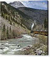 Durango And Silverton Rr Acrylic Print