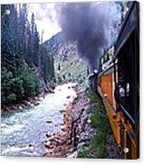Durango To Silverton Acrylic Print
