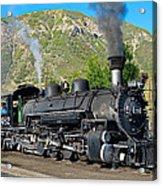 Durango To Silverton Train Acrylic Print