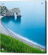 Durdle Door In The Evening Acrylic Print