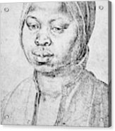 Durer Slave Woman, 1521 Acrylic Print