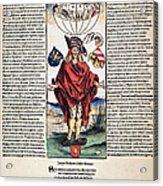 Durer: Syphilitic, 1496 Acrylic Print
