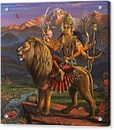 Durga Ma Acrylic Print