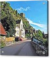 Durnstein Village Acrylic Print
