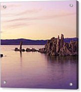 Dusk At Mono Lake Acrylic Print