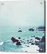 Dusk At The Sea Acrylic Print