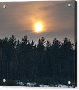 Dusky Sunset Acrylic Print