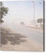 Dust Storm Acrylic Print