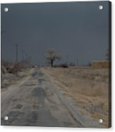 Dust Storm, Lovelock, Nevada Acrylic Print