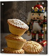Dusting Mince Pies Acrylic Print