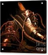 Dusty Dancing Shoes Acrylic Print
