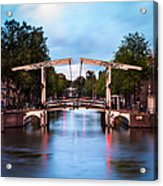 Dutch Bridge Acrylic Print