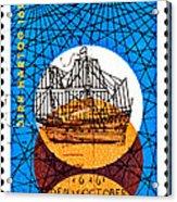 Dutch Dirk Hartog Sailing Ship Acrylic Print