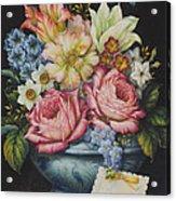 Dutch Flowers Acrylic Print