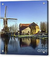 Dutch Windmill Acrylic Print
