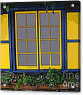 Dutch Window Acrylic Print