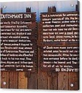 Dutchman's Inn Acrylic Print