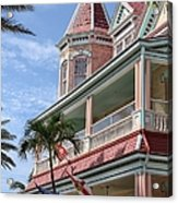 Duval And South Acrylic Print