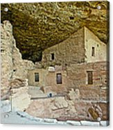 Dwellings In Spruce Tree House On Chapin Mesa In Mesa Verde National Park-colorado  Acrylic Print