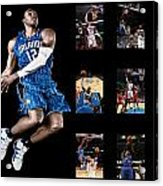 Dwight Howard Acrylic Print by Joe Hamilton