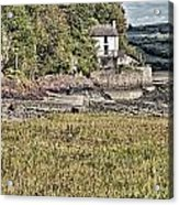 Dylan Thomas Boathouse At Laugharne 2 Acrylic Print
