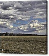 Dynamic Farmland Landscape Acrylic Print