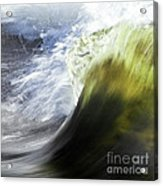 Dynamic River Wave Acrylic Print
