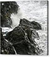 Dyrholaey Surf Acrylic Print